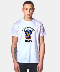 A Bathing Ape x Marvel Comics Captain America T Shirt