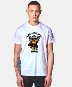 Bape A Bathing Ape x Marvel Thor T Shirt