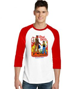 Deal With the Devil Sleeve Raglan Tee