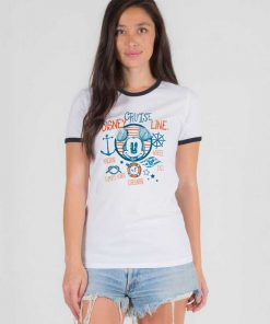 Disney Cruise Line Mickey Mouse Ringer Tee