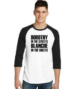 Dorothy In The Streets Blanche Sleeve Raglan Tee