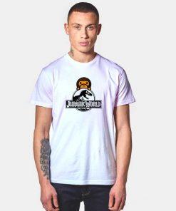 BAPE x Jurassic World Fallen Kingdom T Shirt