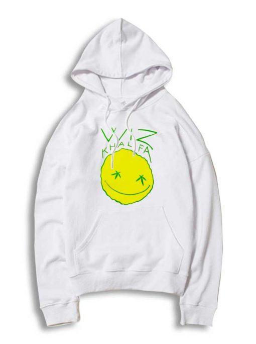 Wiz Khalifa Fat Line Smiley Hoodie