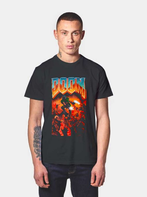 Doom Classic Box Art T Shirt