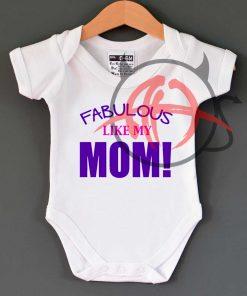Fabulous Like Mom Baby Onesie
