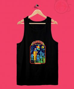 Clowns Are Funny Halloween Tank Top Design Ideas