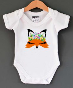 Fox Cute Baby Onesie