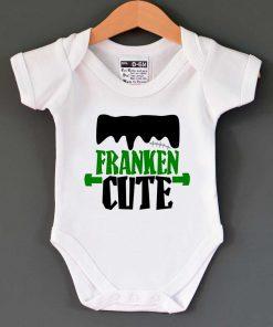 Franken Cute Baby Onesie