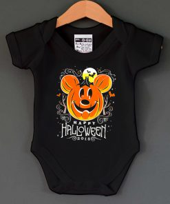 Mickey Mouse Halloween Baby Onesie