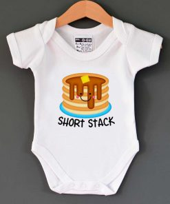 Short Stack Cute Baby Onesie