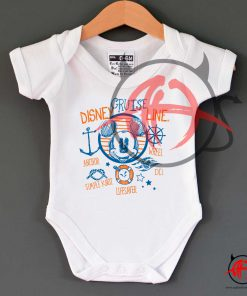 Disney Cruise Line Mickey Mouse Baby Onesie
