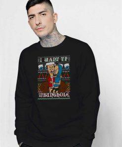 Bravis & Butthead Xmas Ugly Sweatshirt