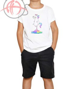 Unicorn Fart Youth T Shirt