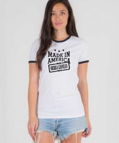 Made in America with Sierra Leonean Parts Ringer Tee