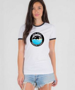 Seal Rock Oregon Coast Ringer Tee
