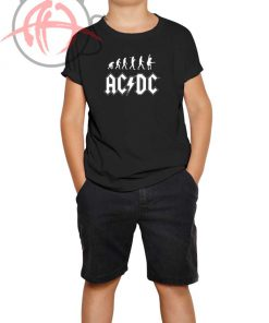 ACDC Rock Evolution Youth T Shirt