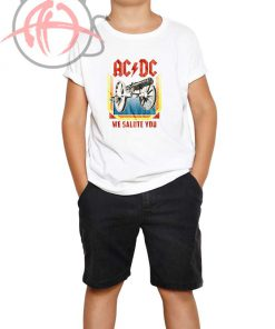 ACDC We Salute You Youth T Shirt