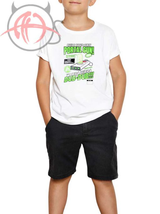 Build Your Own Portal Gun Youth T Shirt