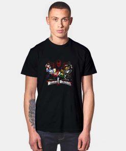 Mighty Morbid Horror Rangers T Shirt