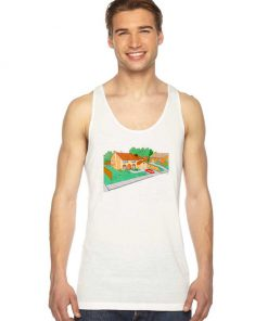 The Simpsons House Tank Top