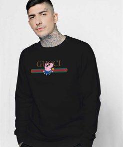 Thug Life Peppa Pig Parody Sweatshirt