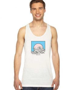 And So It Is Wave Tank Top