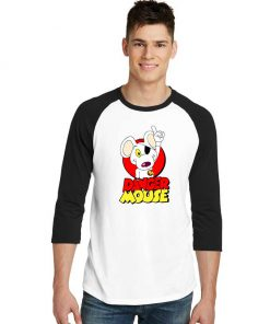 Danger Mouse Sleeve Raglan Tee