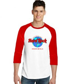 Hard Rock Cafe Niagara Falls Sleeve Raglan Tee