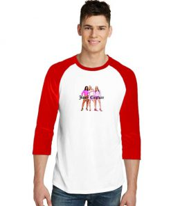 Mean Girls Juicy Couture Sleeve Raglan Tee
