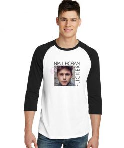 Niall Horan Flicker Album Sleeve Raglan Tee