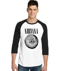 Nirvana Vestibule Circles Of Hell Sleeve Raglan Tee