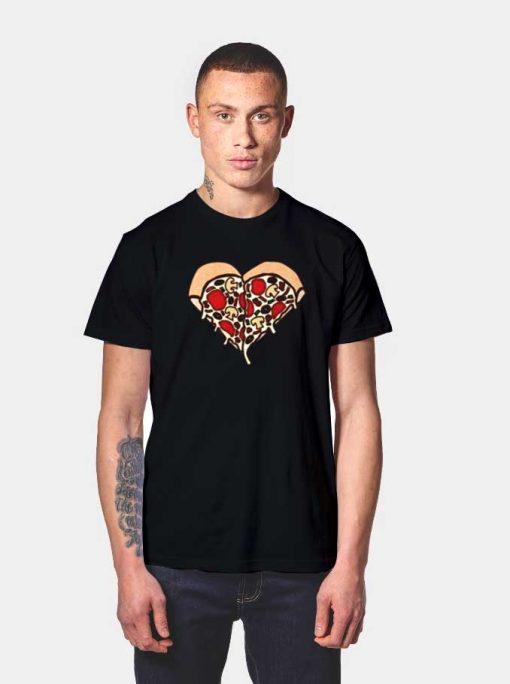 My Pizza Heart T Shirt