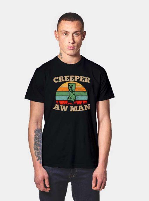 Creeeper Aw Man Vintage T Shirt