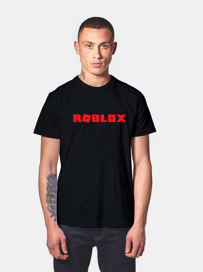 Get Order Roblox Red Logo T Shirt Minecraft Shirt On Sale