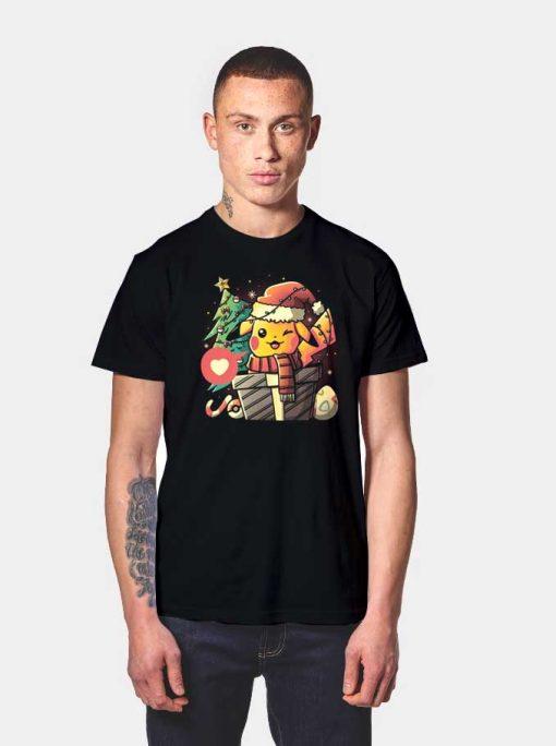 Christmas Pikachu Gift T Shirt
