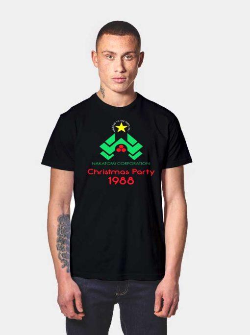Nakatomi Corporation Christmas Party T Shirt