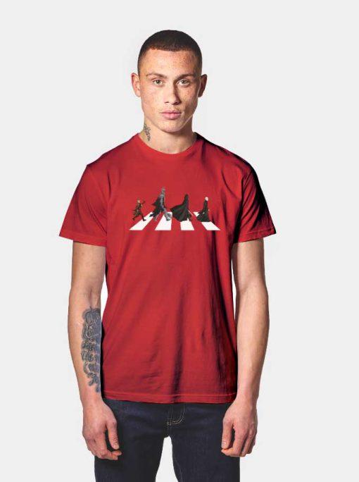 The Villain Abbey Road T Shirt