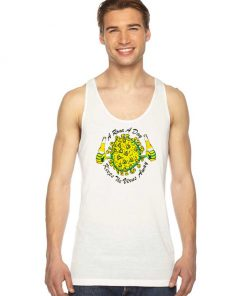A Rona A Day Keeps The Virus Away Quote Tank Top