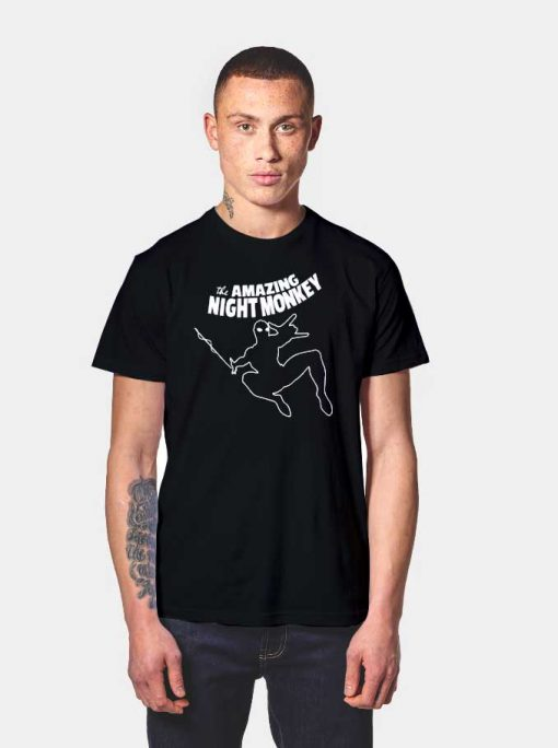 Amazing Night Monkey The Spiderman T Shirt