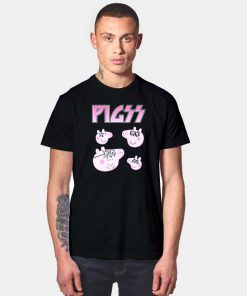 Heavy Metal Group Peppa Pig Logo T Shirt