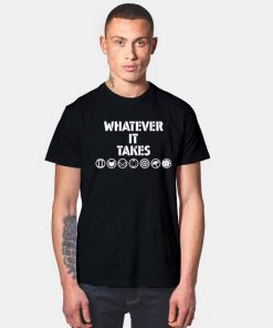 Whatever It Takes Avenger All Hero Logo T Shirt