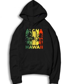 Aloha Hawaiian Island Vintage Throwback Hoodie