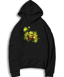 Baby Yoda And The Force Of Coronavirus Hoodie
