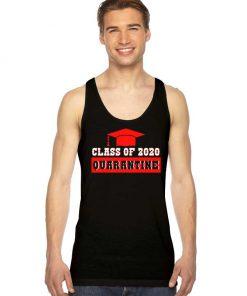 Class Of 2020 Quarantine Coronavirus Tank Top