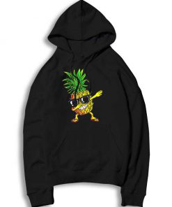 Hawaiian Dabbing Pineapple Sunglasses Hoodie