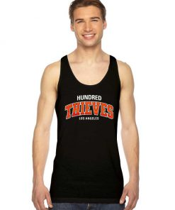 Hundred Thieves Los Angeles Jersey Logo Tank Top