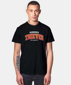Hundred Thieves Los Angeles Jersey Logo T Shirt