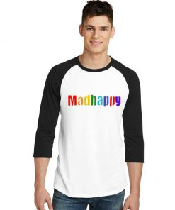 Madhappy Coloring Colorful Logo Raglan Tee