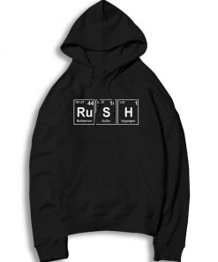 Rush Chemistry Periodic Table Elements Hoodie