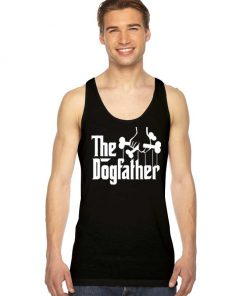 The Dogfather Dog Lover Metal Style Tank Top
